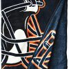 "NFL 40 Yard Dash Micro Raschel Throw, 46"" x 6..."