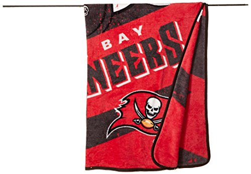 "NFL Deep Slant Micro Raschel Throw, 46"" x 60"""