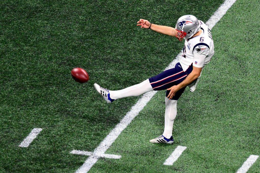 Patriots release punter and Super Bowl 53 hero...