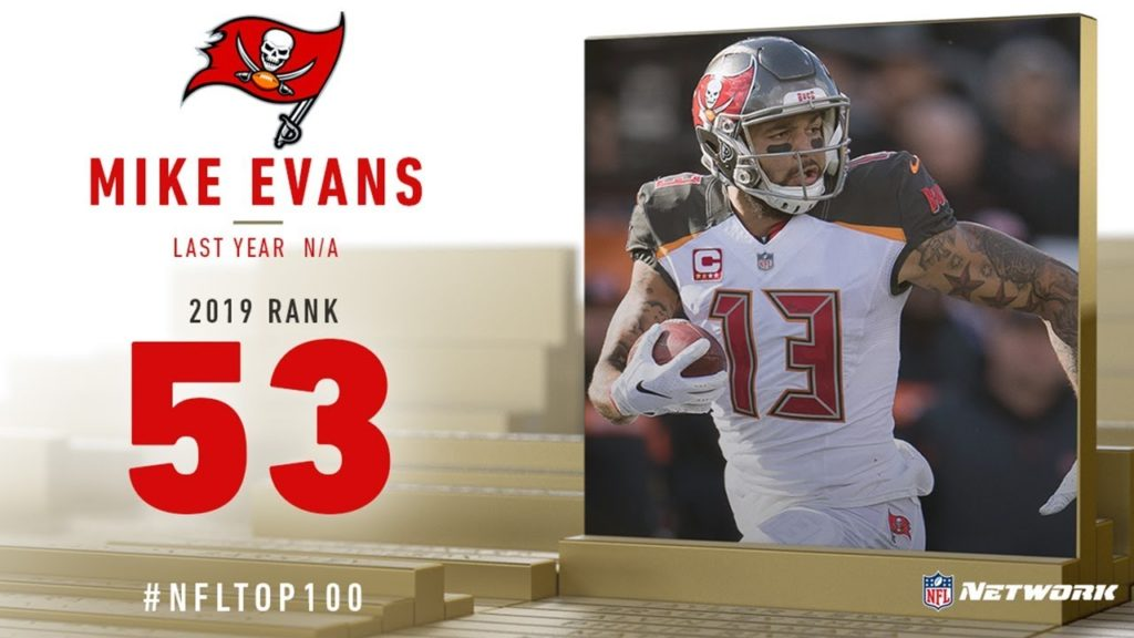 #53: Mike Evans (WR, Buccaneers) | Top 100 Players...