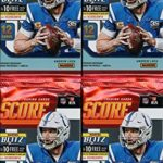 2019 Score NFL Football Collection of FOUR(4)...