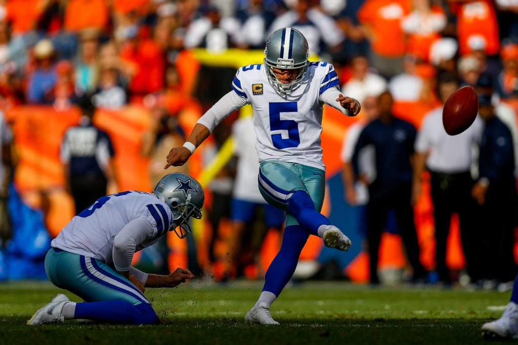 Former kicker Dan Bailey's shadow still looms...