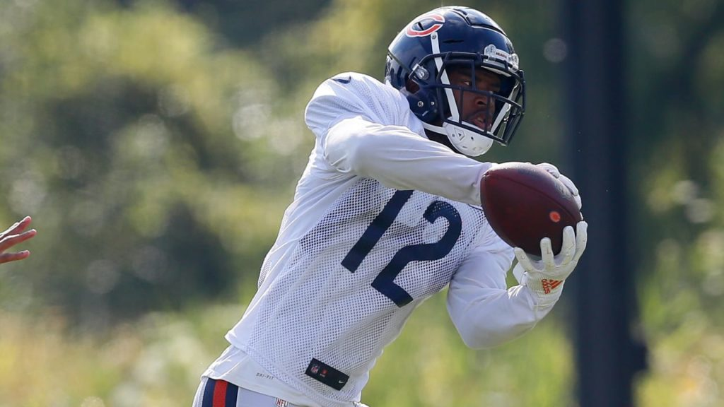 Bears veteran Robinson leads by example