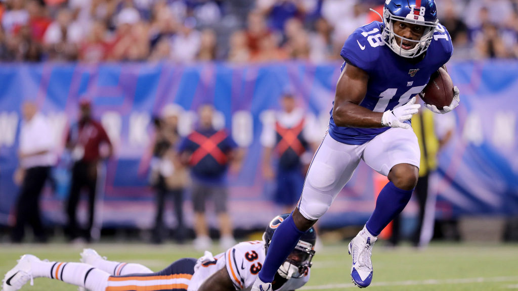 New York Giants may have more depth at receiver...