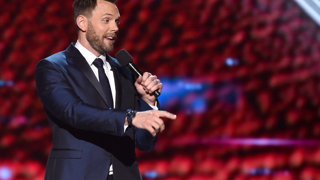 Comedian Joel McHale to serve as analyst on...