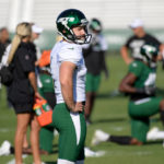 New York Jets kicker Taylor Bertolet struggles in...