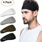Mens Headband - Running Sweat Head Bands for...