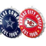 NFL Bottlecap Wall Sign