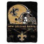 "NFL New Orleans Saints ""Prestige"" Raschel Throw..."