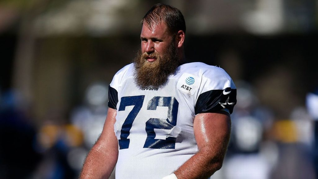 Cowboys center Travis Frederick 'back to normal'...