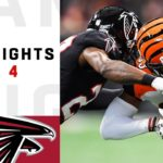 Bengals vs. Falcons Week 4 Highlights | NFL 2018