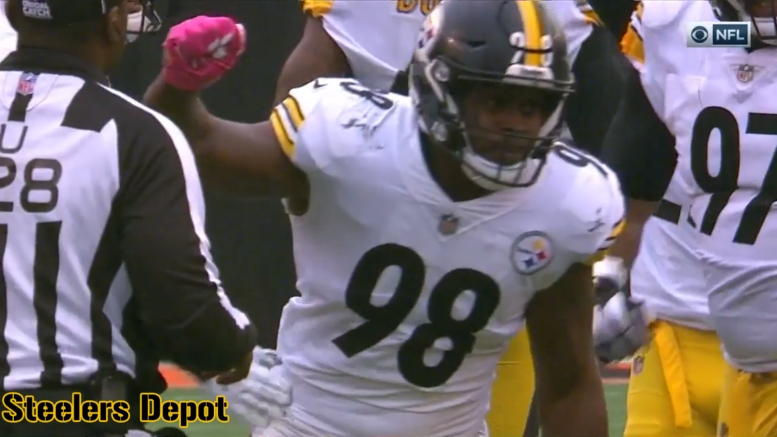 Steelers LB Vince Williams Leaves Week 2 Game With...