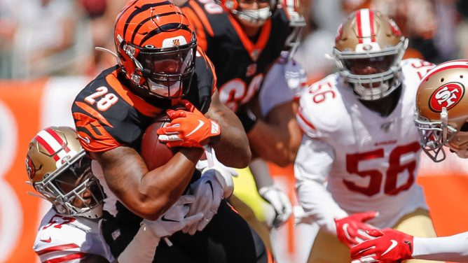Joe Mixon exits the Bengals' injury report –...