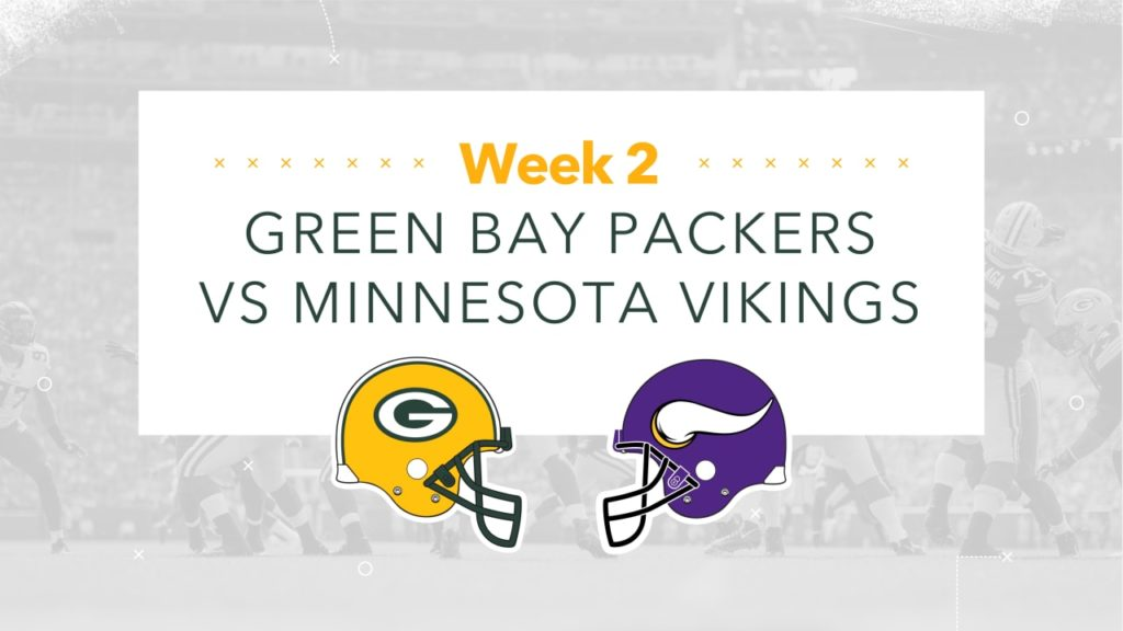 Infographic: Packers-Vikings Preview