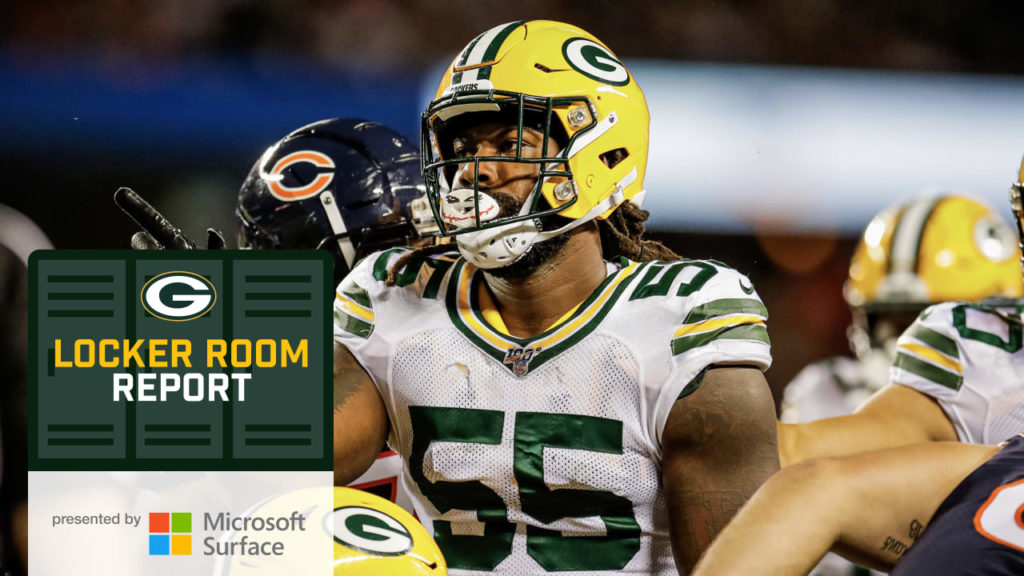 Packers' defense follows the Smiths' lead