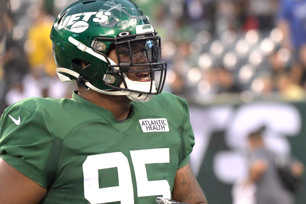 Jets' top pick Quinnen Williams not about to get...