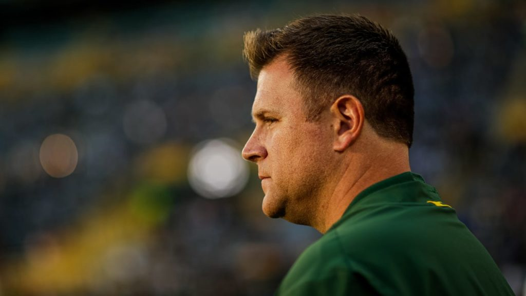 Brian Gutekunst likes where Packers' roster is...