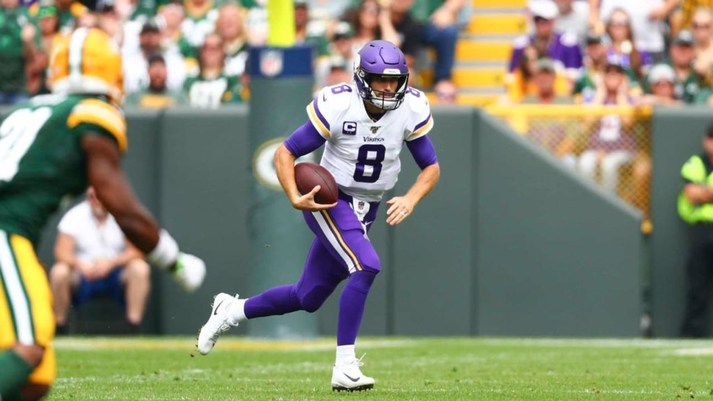 Zimmer Evaluates Cousins' Play, Emphasizes...
