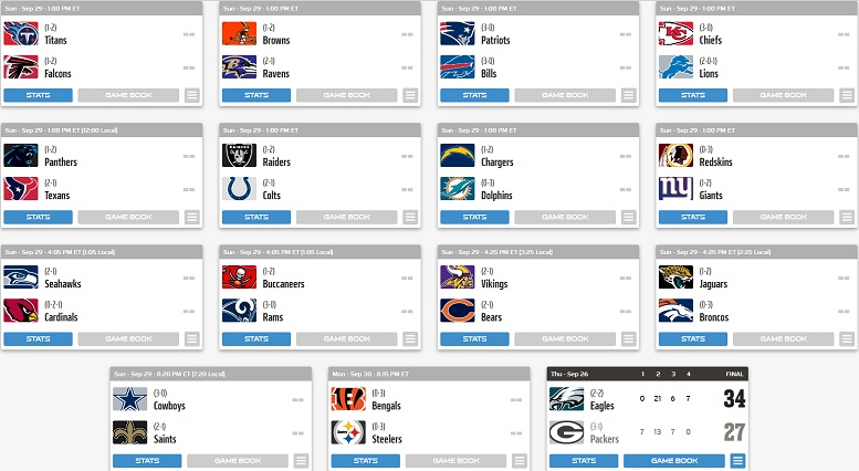 2019 NFL Week 4 Open Discussion Thread