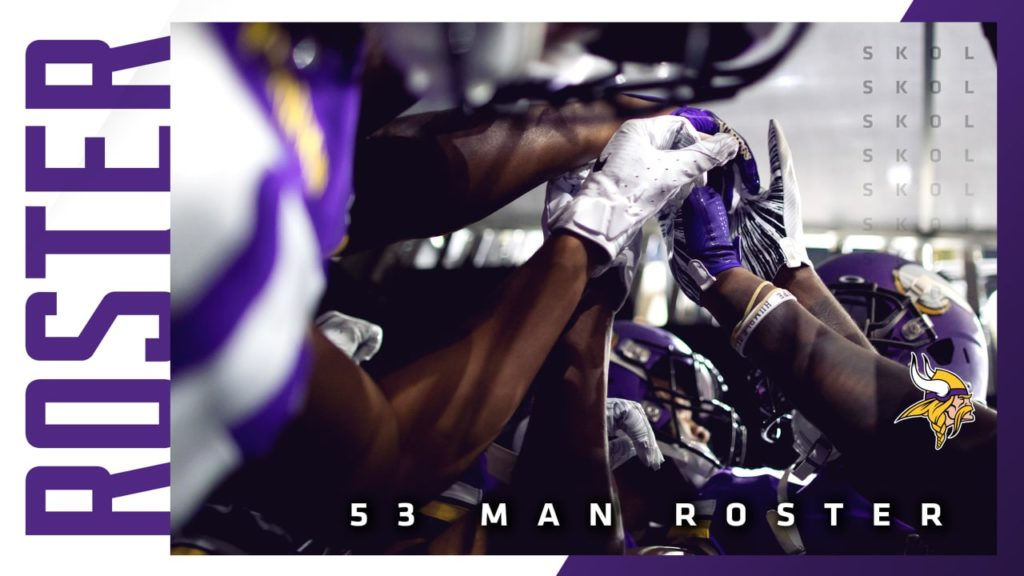 Vikings Announce Roster Moves, Set Initial 53-Man...