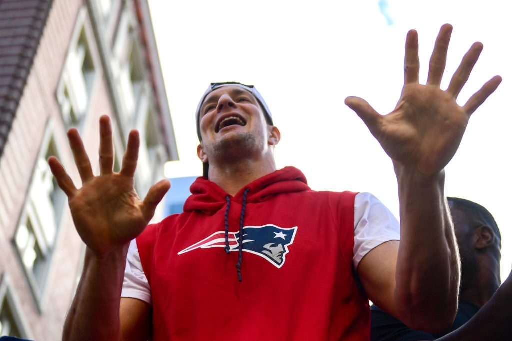 Patriots fans may disagree, but Rob Gronkowski is...