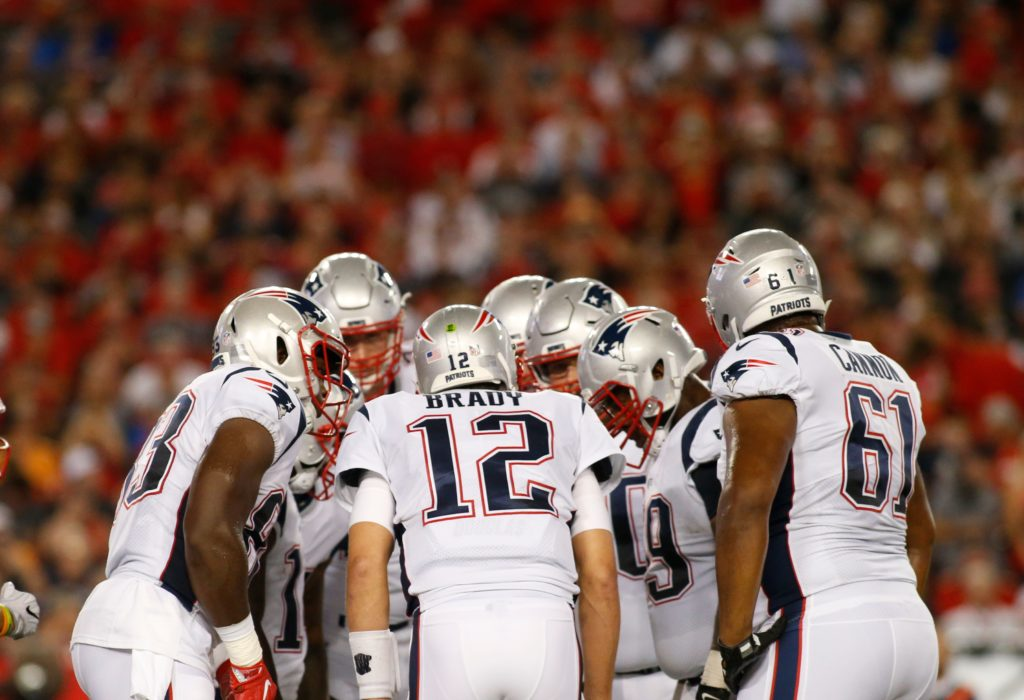 New England Patriots: The struggling offensive...
