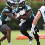 Eagles promote RB Boston Scott from practice squad...