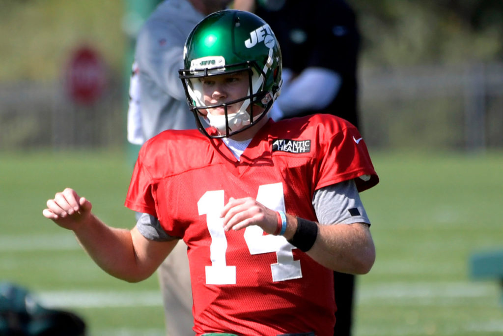 Jets QB Sam Darnold has one hurdle left to play...