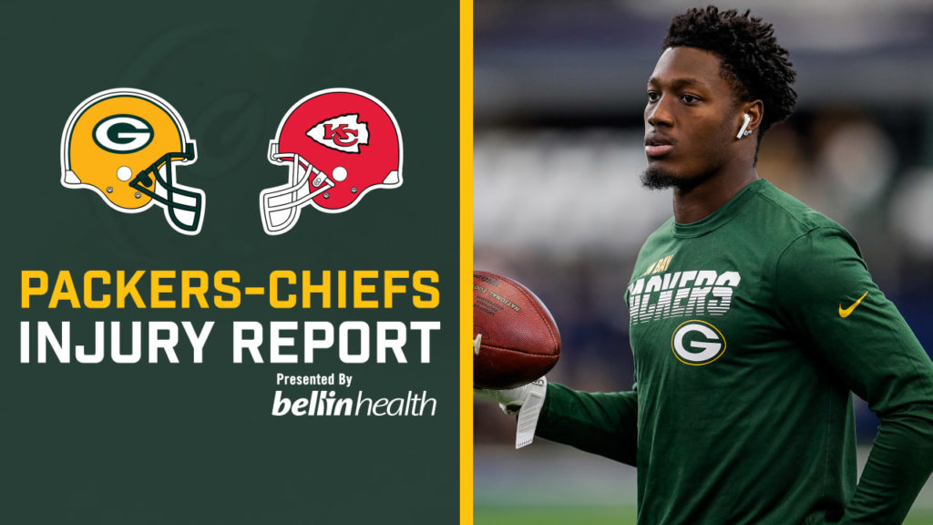 Packers list WR Davante Adams as doubtful, S...