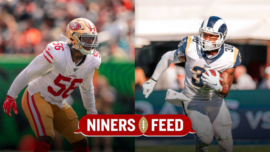 49ers vs. Rams in NFC West Battle