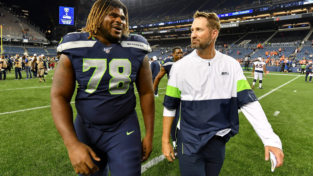 Pete Carroll confirms D.J. Fluker pulled his...