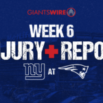 New York Giants' Saquon Barkley, Evan Engram out...