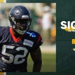 Packers sign LB B.J. Bello to practice squad