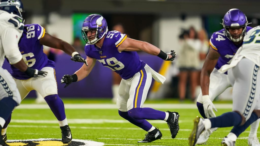 Vikings Sign Cameron Smith to Active Roster, Waive...