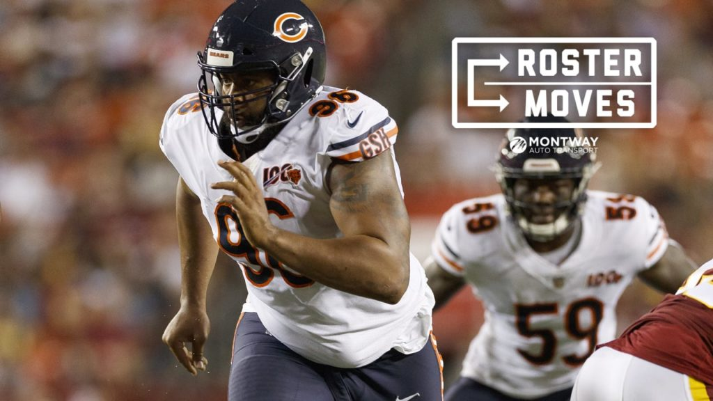 Bears place Hicks on injured reserve