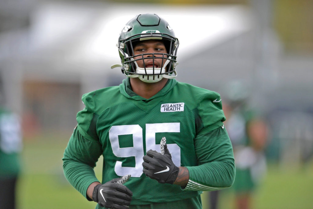 Jets' Quinnen Williams proving he can be...