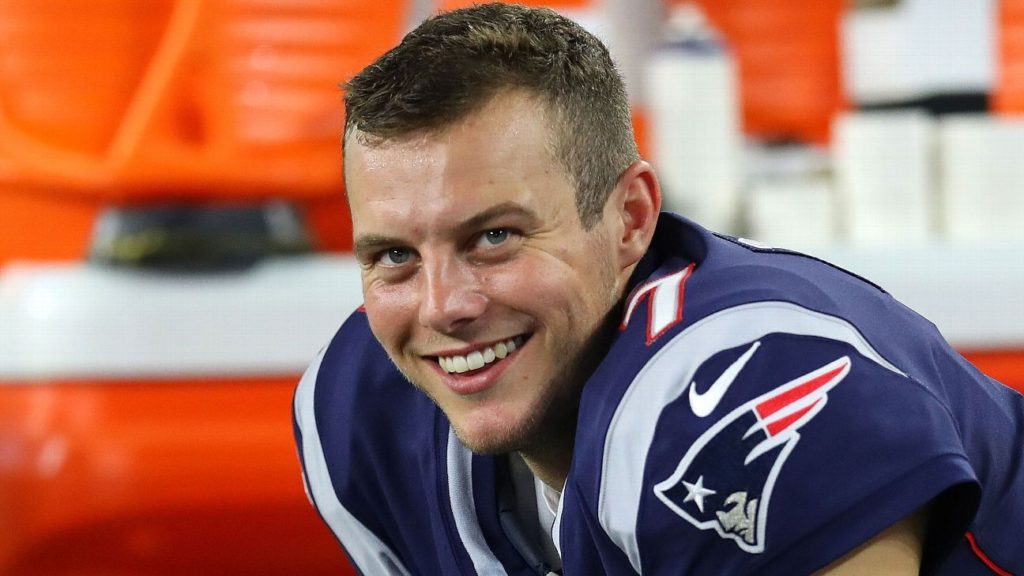 Patriots' most valuable rookie has been ... punter...
