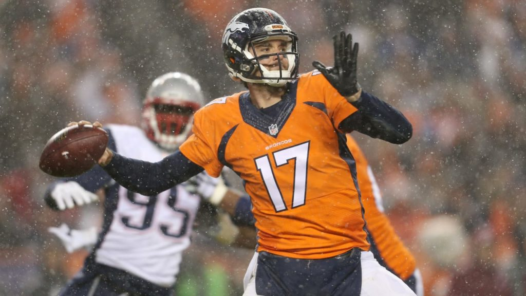 Brock Osweiler, a key piece of Broncos' Super Bowl...