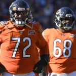 Chicago Bears offensive line starting to find its...