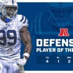 Justin Houston Named AFC Defensive Player Of The...