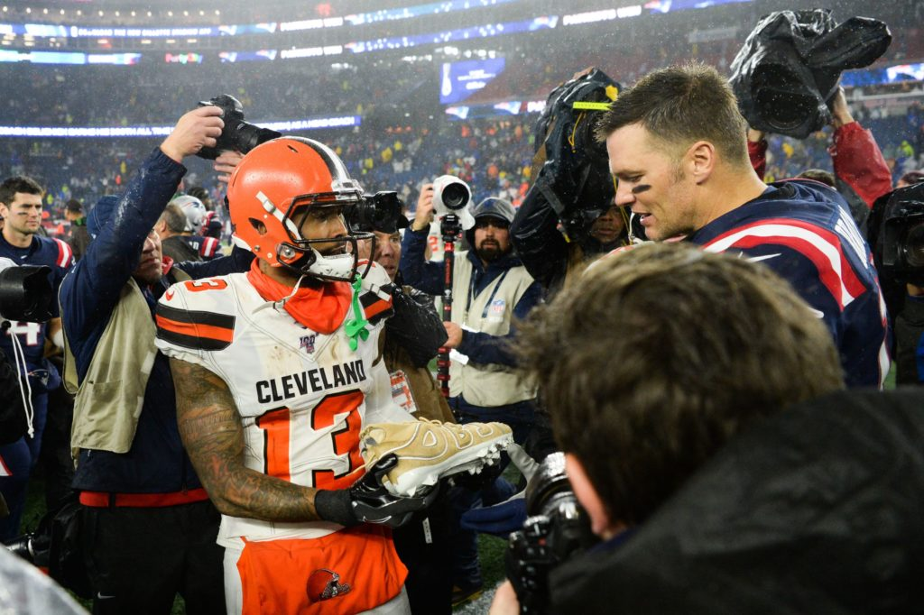 Could Tom Brady and Odell Beckham Jr. get their...