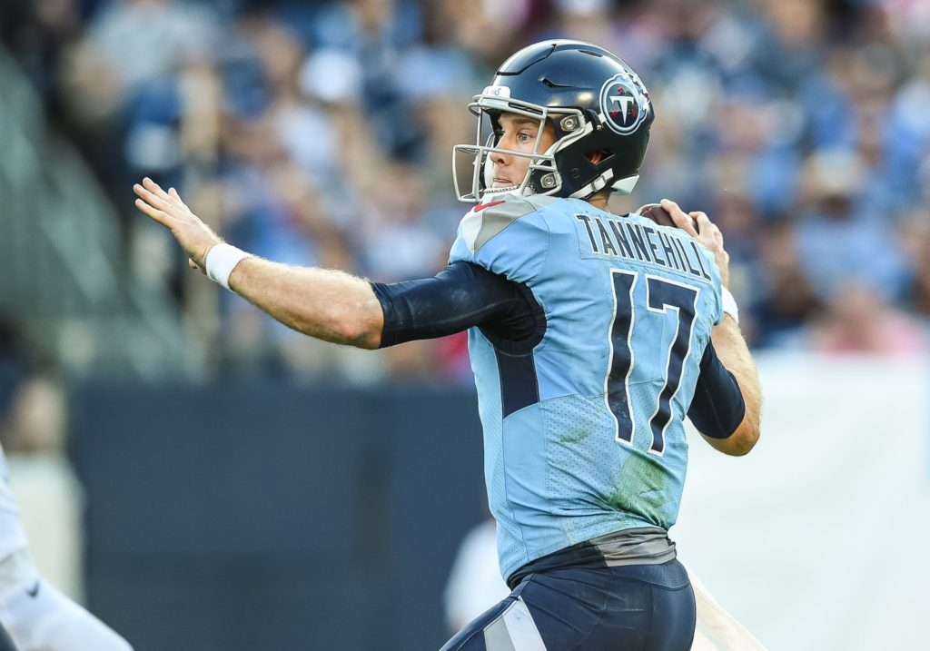 Tennessee Titans have Carolina Panthers on upset...