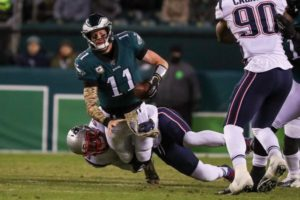 Video: Eagles Offense Can't Solve Patriots, Fall...