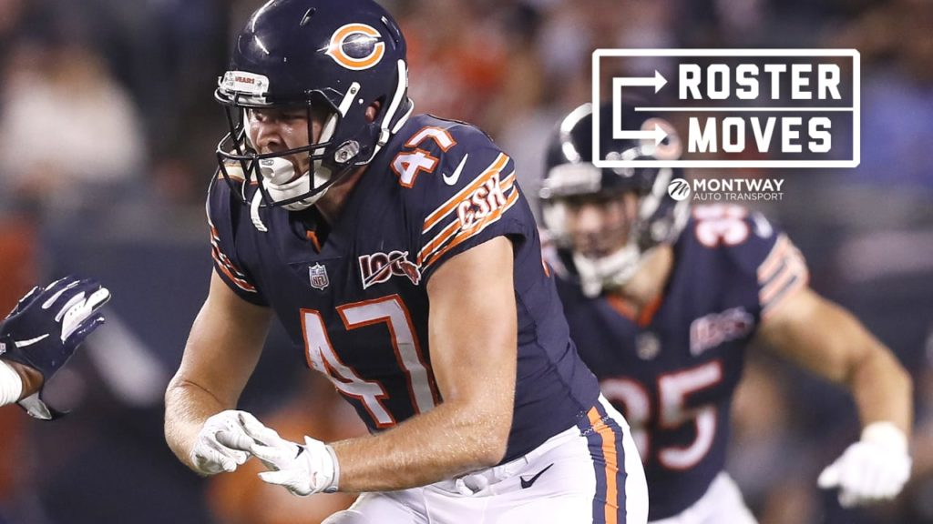 Chicago Bears elevate Jesper Horsted to active...