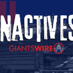 New York Giants vs. Jets Week 10 inactives: Who's...