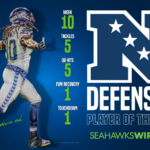 Seahawks DE Jadeveon Clowney named NFC Defensive...