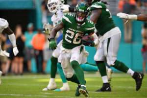 Jets optimistic Le'Veon Bell (ankle) will play vs....