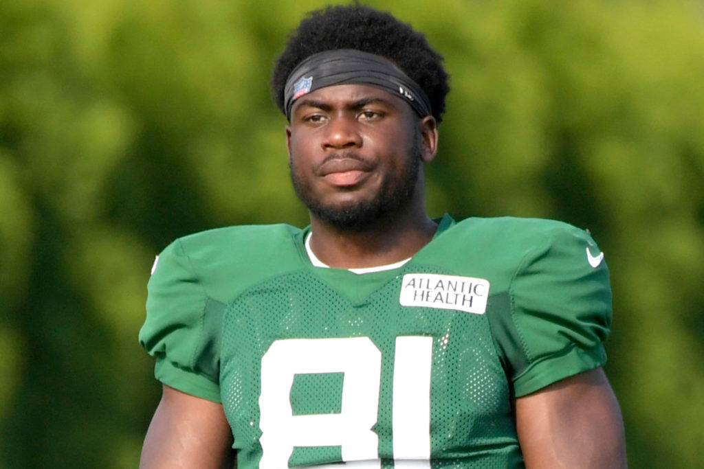 Jets trying to handle Quincy Enunwa issue 'in...