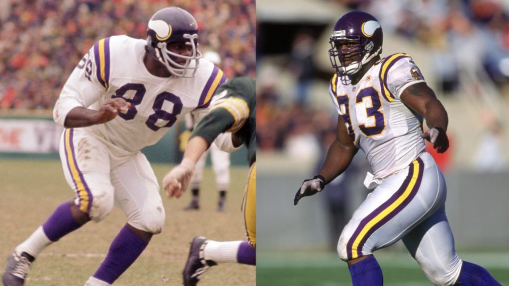 Page & Randle Make NFL 100 All-Time Team