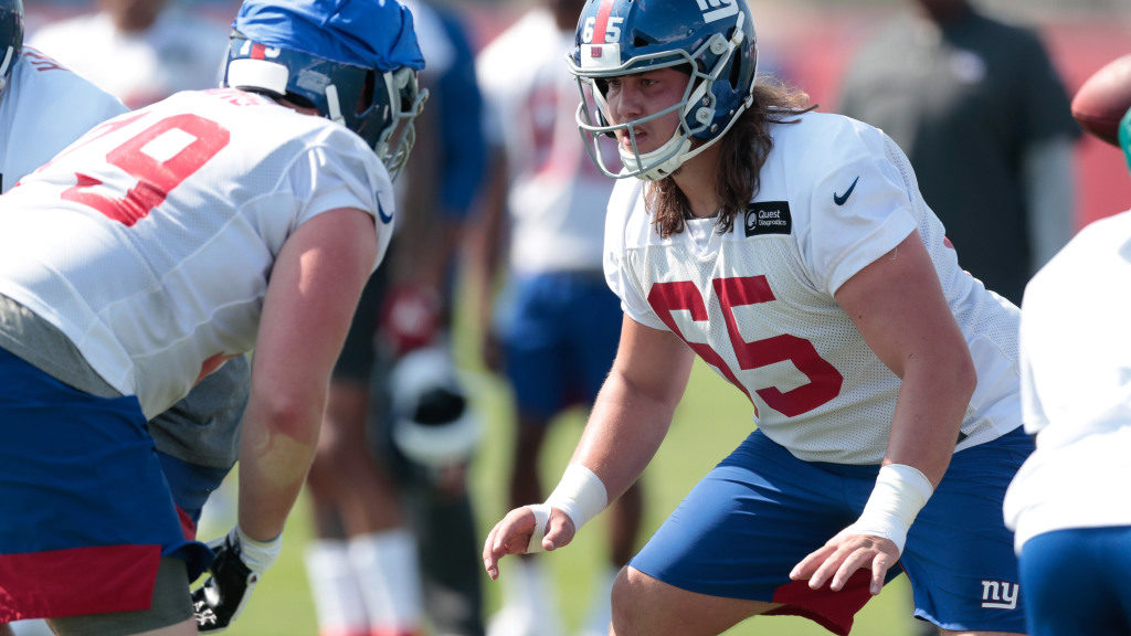 Is Nick Gates a future answer at tackle for the...